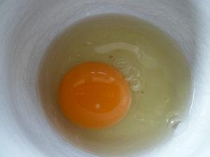 Zwerghühner legen gesunde Eier, rohes Ei, Nährstoffe, Inhalt, Cholesterin, Vitamine